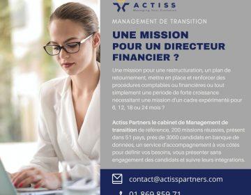 mission pour un directeur financier